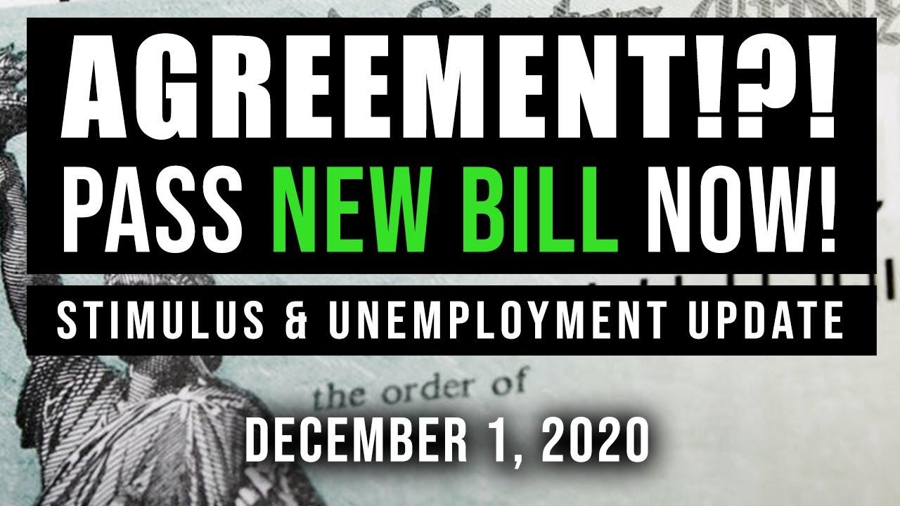 (UPDATE! NEW BILL BY 2021!?!) SECOND STIMULUS CHECK UPDATE $1200 & UNEMPLOYMENT BENEFITS 12/01/2020