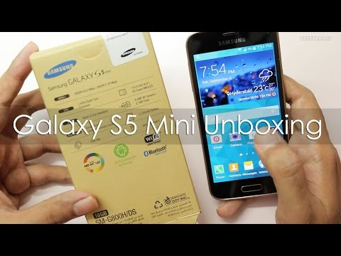 Samsung Galaxy S5 Mini Unboxing & Hands On Overview
