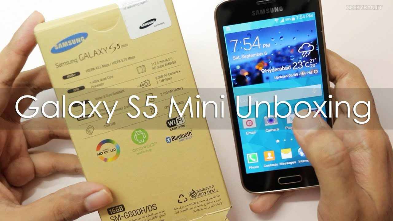 samsung galaxy s5 mini unboxing hands on overview youtube. Black Bedroom Furniture Sets. Home Design Ideas