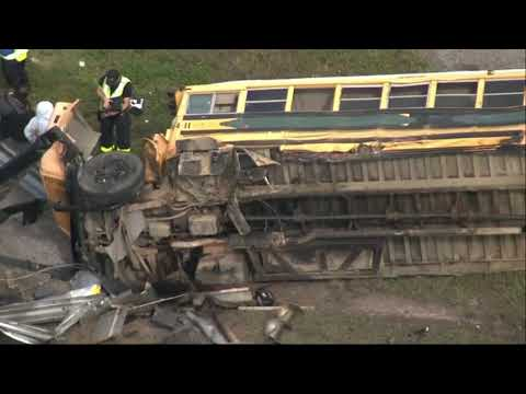 Associated Press: Several hurt in bus crash on Fla. highway