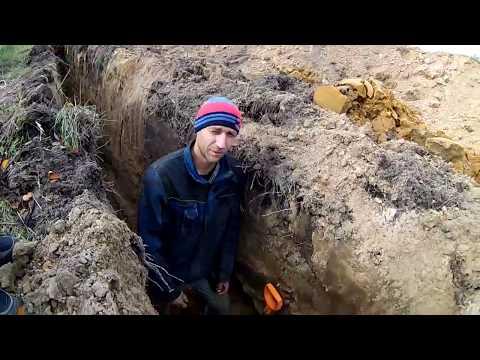 Водопроводная труба ПНД прокладка под землю ...