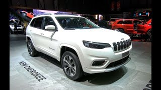 JEEP CHEROKEE 4X4 SUV NEW MODEL 2018 EUROPE PREMIERE 4 COLOURS WALKAROUND + INTERIOR