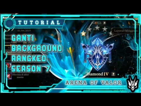 Cara Mengganti Background Ranked AOV Season 7