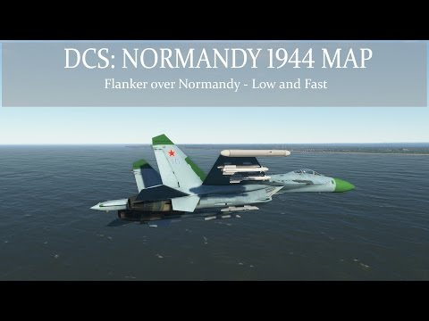 DCS: Normandy 1944 Map - Flanker Over Normandy