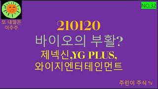 제넥신,YG PLUS,와이지엔터테인먼트