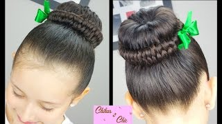 Infinity Braided Bun! Hairstyles for School| Braided Hairstyles | Cute Girly Hairstyles