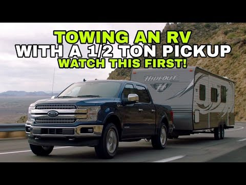 towing-a-travel-trailer-rv-with-a-1/2-ton-pickup!-watch-this!