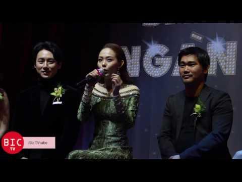 """[Bic TV] Họp báo """"Sắc đẹp ngàn cân"""" - Minh Hằng - Rocker Nguyễn - Phương Trinh Jolie"""