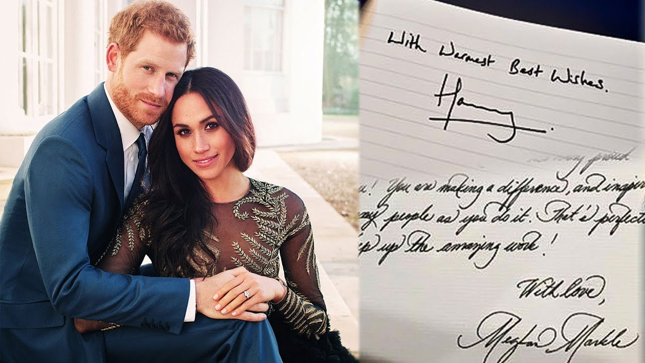 foto A Handwriting Expert Analyzes How Meghan Markles Signature Has Changed Since Becoming A Duchess