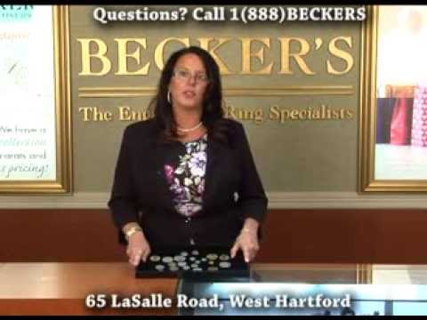 Rare Gold and Silver Coin Dealers Buyers: Becker's Diamonds & Fine Jewelry West Hartford CT.