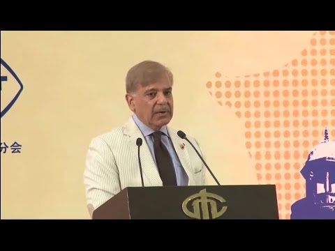 CM Punjab's historic address at Tianjin (China)
