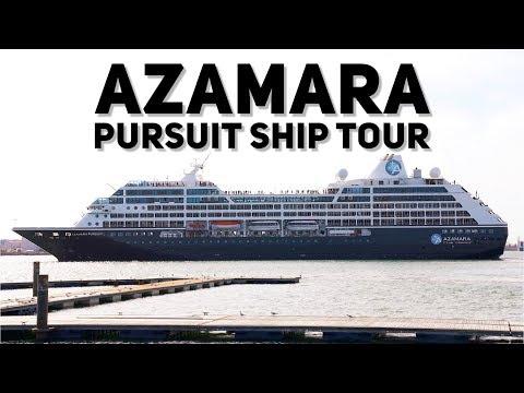 Azamara Pursuit Ship Tour and First Impressions (4K)