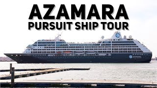 Azamara Pursuit Ship Tour and First Impressions (4K)