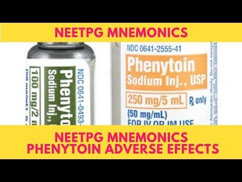 NEETPG Mnemonics  Phenytoin Adverse Effects