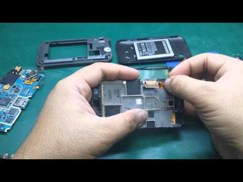 SAMSUNG Galaxy ACE (GT-S5830) - Touch & LCD replacement / membaiki layar sentuh