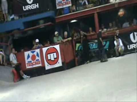 World championship freestyle skateboard:matheus navarro runs
