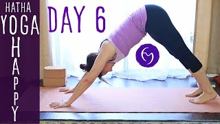 Day 6 Hatha Yoga Happiness: Practice and Let Go with Fightmaster Yoga