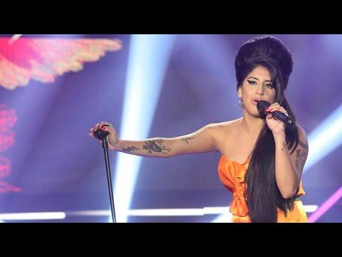 Imitadora de Amy Winehouse deslumbró a todos con