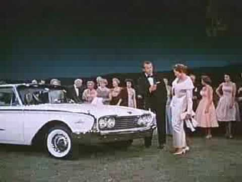 1960 Ford car commercial