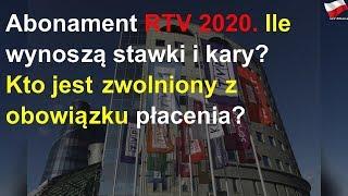Abonament RTV 2020. Ile wynoszą stawki i kary? Kto jest zwolniony z obowiązku płacenia?