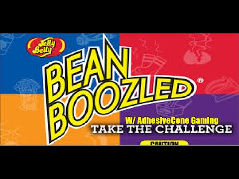 BEANBOOZLED CHALLENGE W/ Adhesivecone gaming
