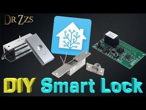 "$25 DIY ""Smart"" Door Locks - ElectroMagnet + Sonoff + Tasmota"