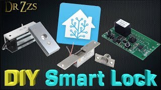 "$25 DIY ""Smart"" Door Locks - ElectroMagnet + Sonoff + Tasmota"