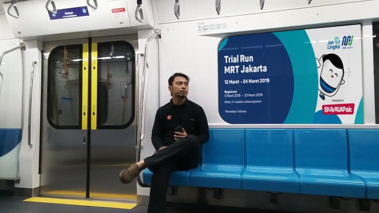 Ayo Coba Mrt Jakarta Mumpung Masih Gratis Bundaran Hi Lebak