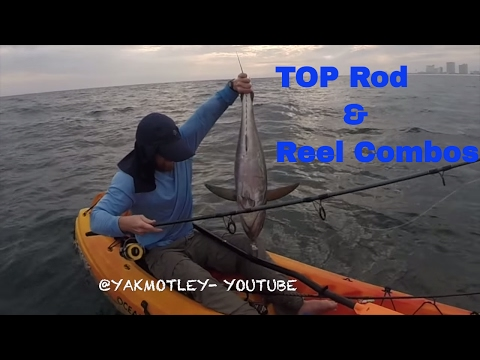 TOP Rod And Reel Combos For The NEW KAYAKER!