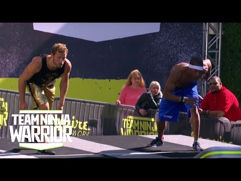 Season 2, Episode 6: Grant McCartney and Tremayne Dortch in Tie Breaker | Team Ninja Warrior
