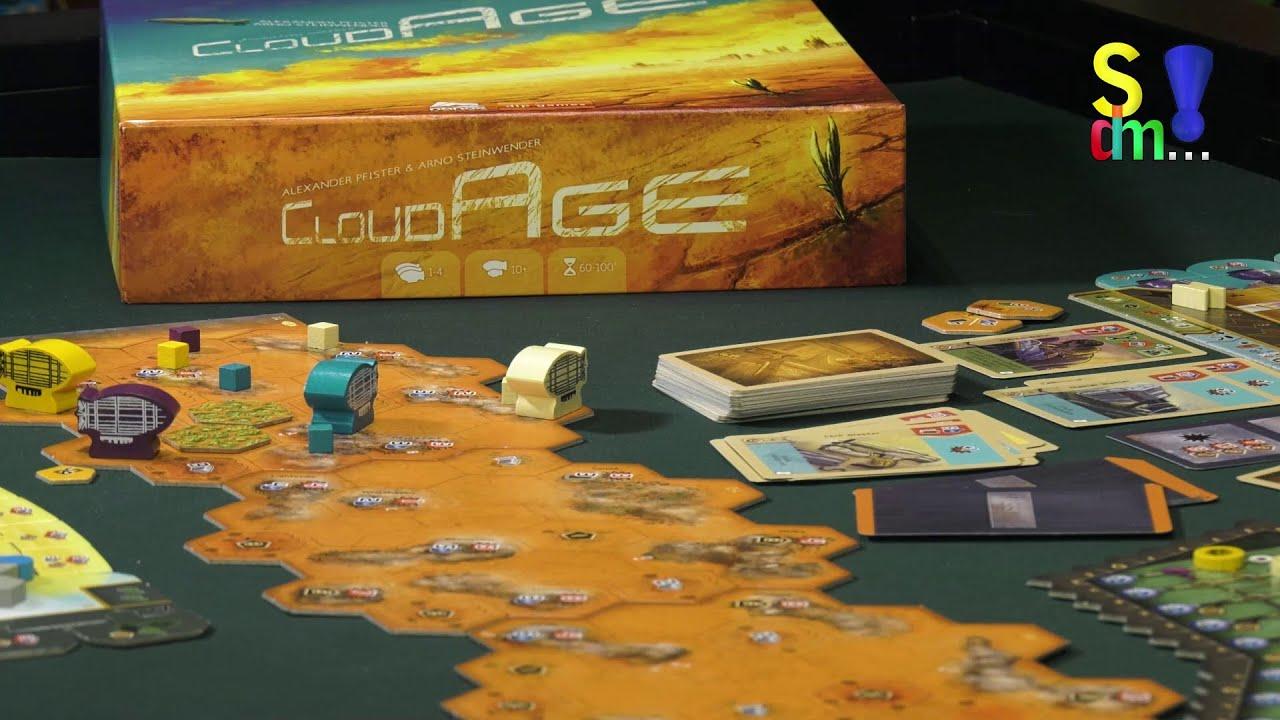 Spiel doch mal CLOUD AGE! - Brettspiel Rezension Meinung Test #359