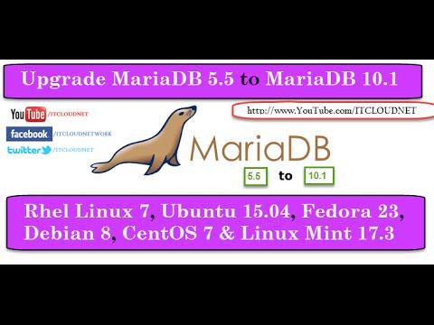 How to Upgrade MariaDB 5 5 to MariaDB 10 1 on CentOS/RHEL 7, Ubuntu 15 10  and Debian 8 Systems