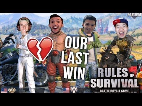 My Last Rules of Survival Win With Noah