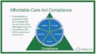 What you need to know about the ACA - Presented by Greenshades Software