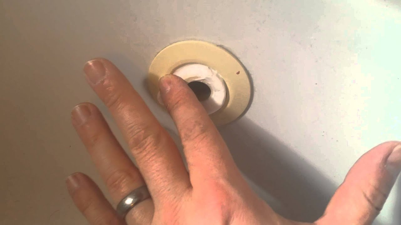 Jet tub Fix Sealing up the jets for good. Now a soaker tub - YouTube