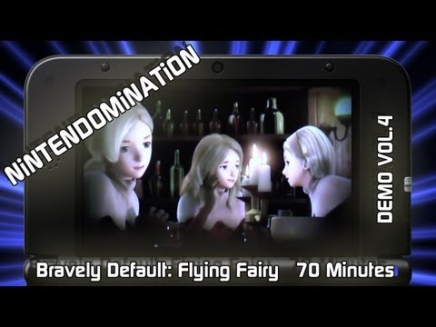 3DS DEMO - Bravely Default: Flying Fairy - Vol.4 - 70 Minutes footage