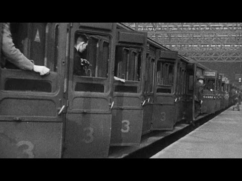 Newspaper Train (1942) | Railways on Film