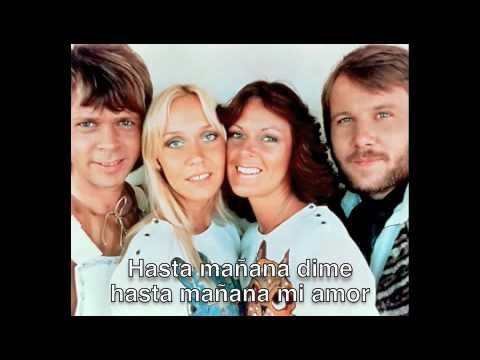 ABBA ¨HASTA MAÑANA¨ LYRICS - ESPAÑOL