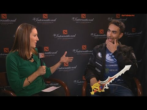 EG.Universe's interview | The International 2016 DOTA 2 @ Play-off 1/2 WB #AfterGame #TI6 #TI2016