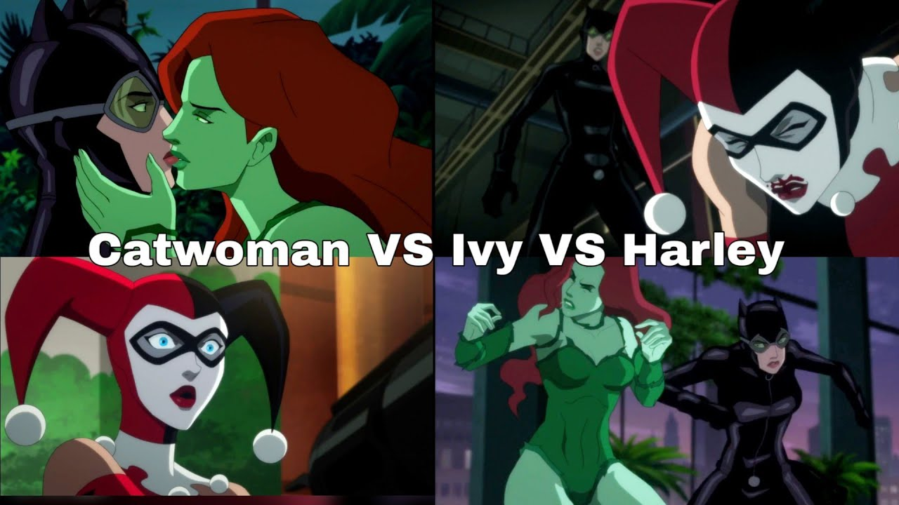 Harley Quinn Vs Catwoman Vs Poison Ivy Batman Hush Animated Hd Batman 2019 Youtube