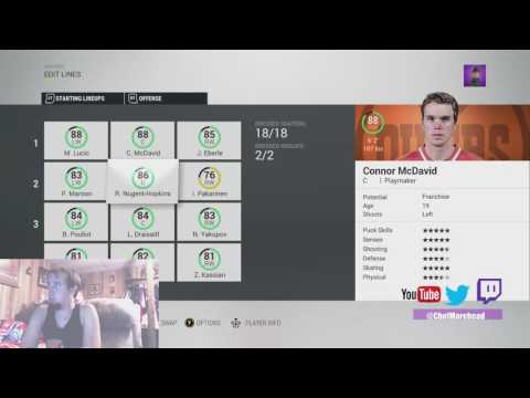 NHL 17 All Rosters