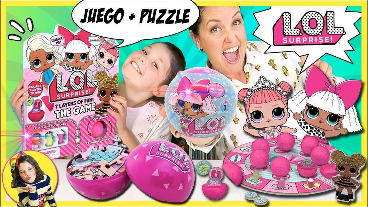 El Juego De Mesa De Las Munecas Lol Suprise Puzzle Lol Suprise