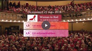 Från Woman in Red Stockholm 12 mars 2018