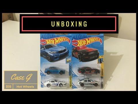 Unboxing - Hot Wheels Case G 2018 (Original Sealed)