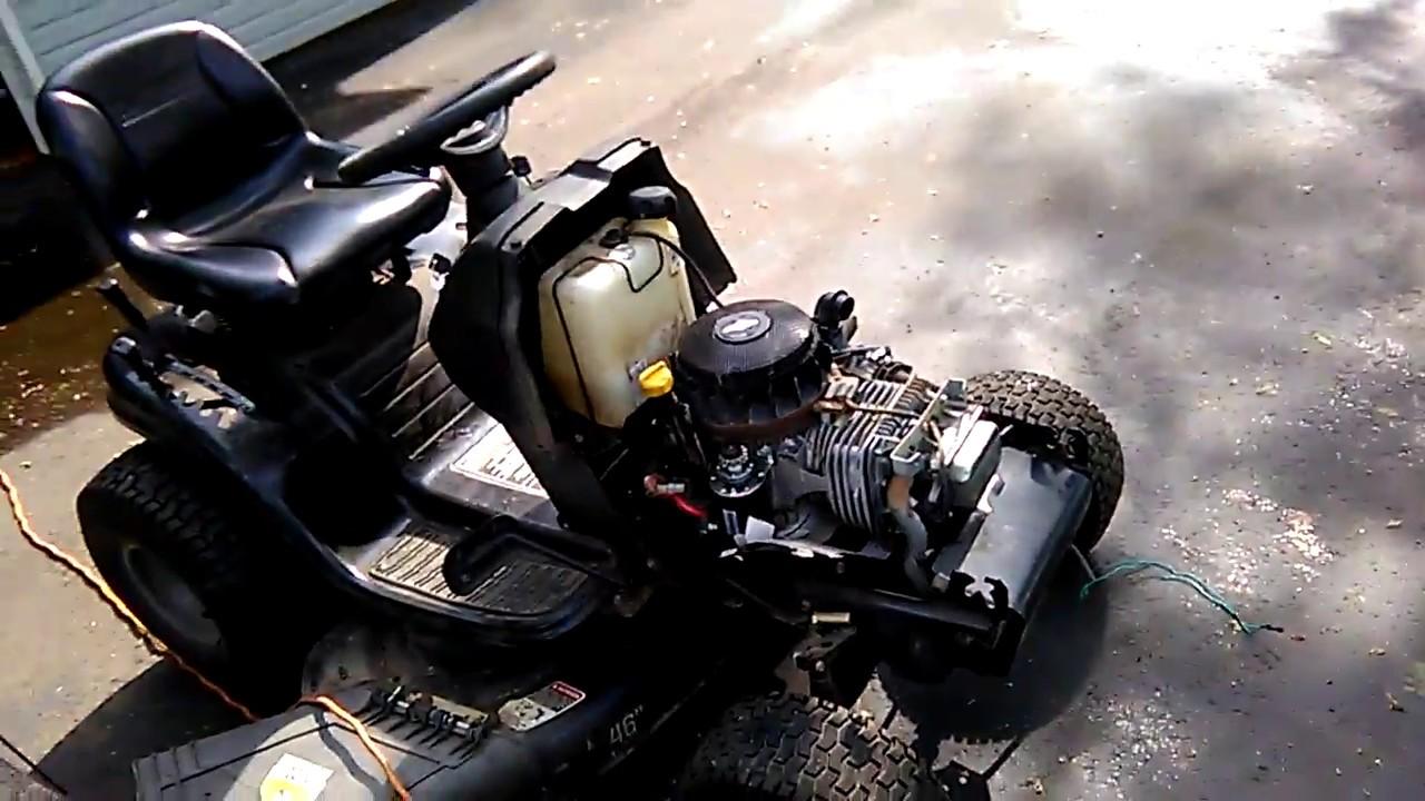 Craftsman Riding Lawn Mower Won U0026 39 T Start I Need Help