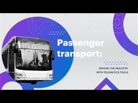 Online conference Passenger transport: driving the industry with telematics tools