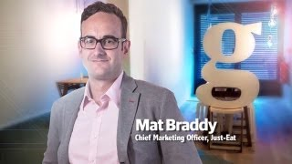 Just Eat's Mat Braddy on why the online takeaway business is taking off