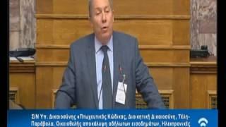 Παρέμβαση Αντώνη Μακρή, Προέδρου ΣΕΛΠΕ στην Επιτροπή της Βουλής για τον Πτωχευτικό Κώδικα – Α
