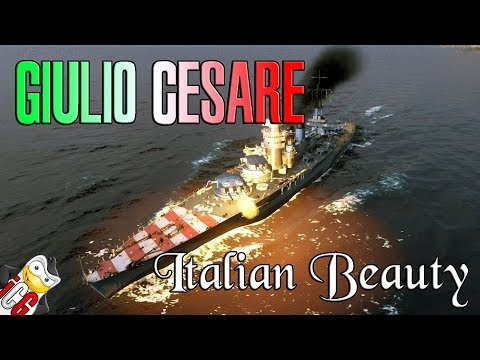 World of Warships - Giulio Cesare Review - Mamma Mia She's Amazing