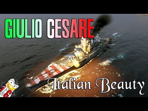 World of Warships - Giulio Cesare Review - Mamma Mia She's Amazing